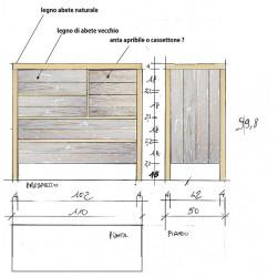 mobidoga è un contenitore in legno di recupero